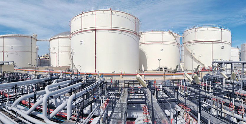Oil, Gas and LNG Tanks & Terminals